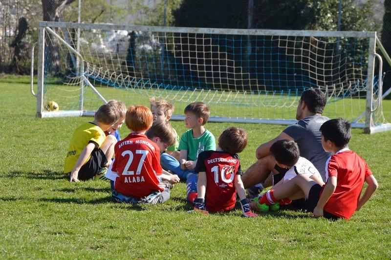 1.サッカースクールに通う目的を考えましょう