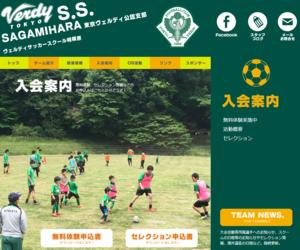 ヴェルディサッカースクール相模原 大島幼稚園